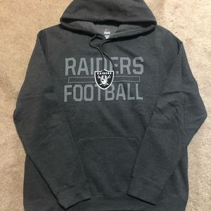 Raiders Cotton Pullover Hoodie - Size XL